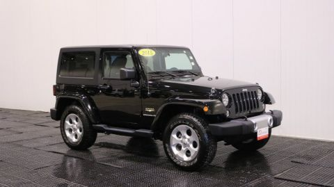 Used Jeep Wrangler Sahara