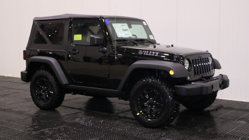 New 2018 Jeep Wrangler JK Willys Wheeler W Sport Utility ...