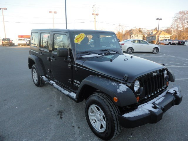 certified pre owned 2013 jeep wrangler unlimited sport convertible in braintree u783 quirk. Black Bedroom Furniture Sets. Home Design Ideas