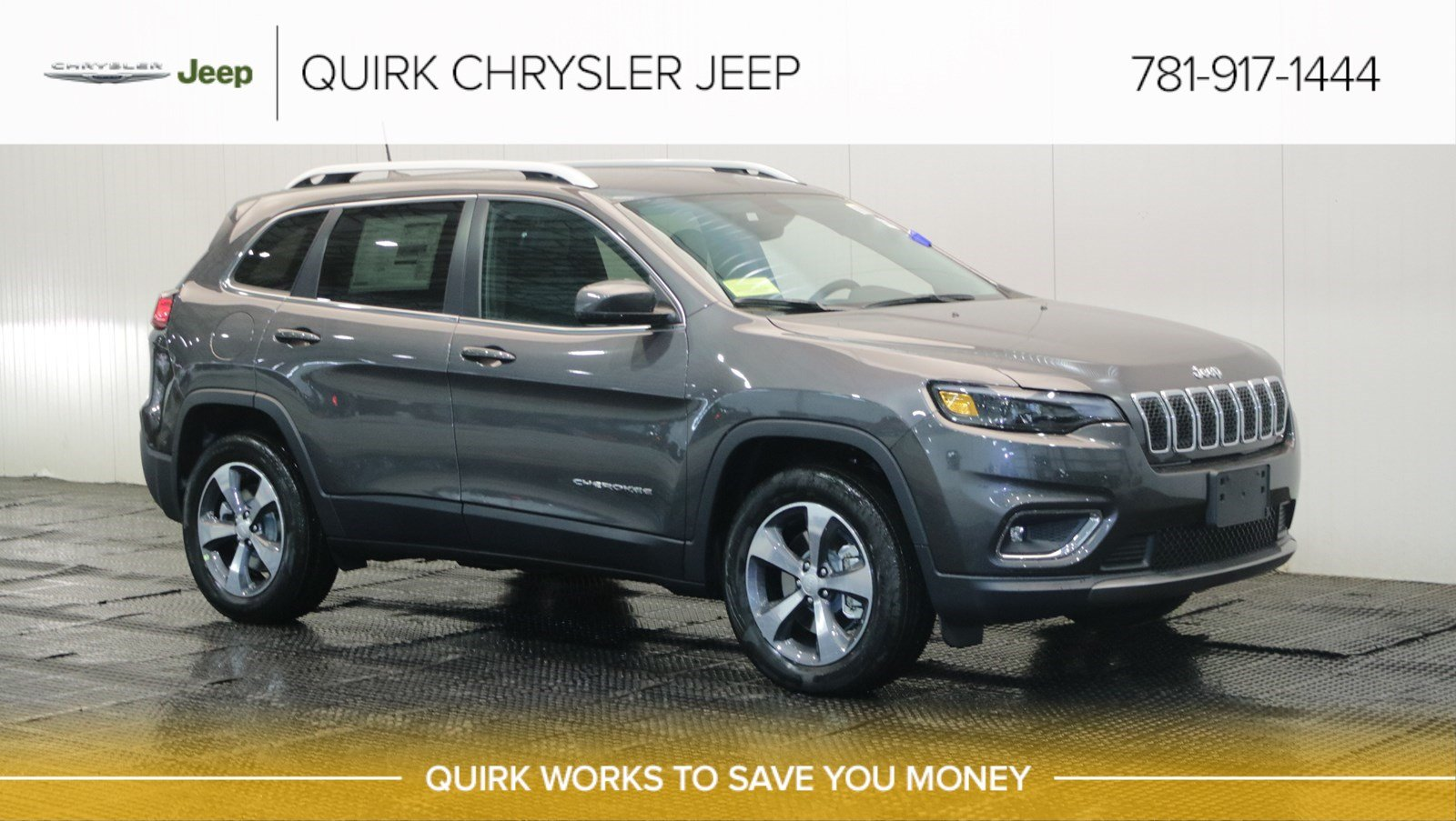 New 2019 Jeep Cherokee Limited Sport Utility In Braintree J17216