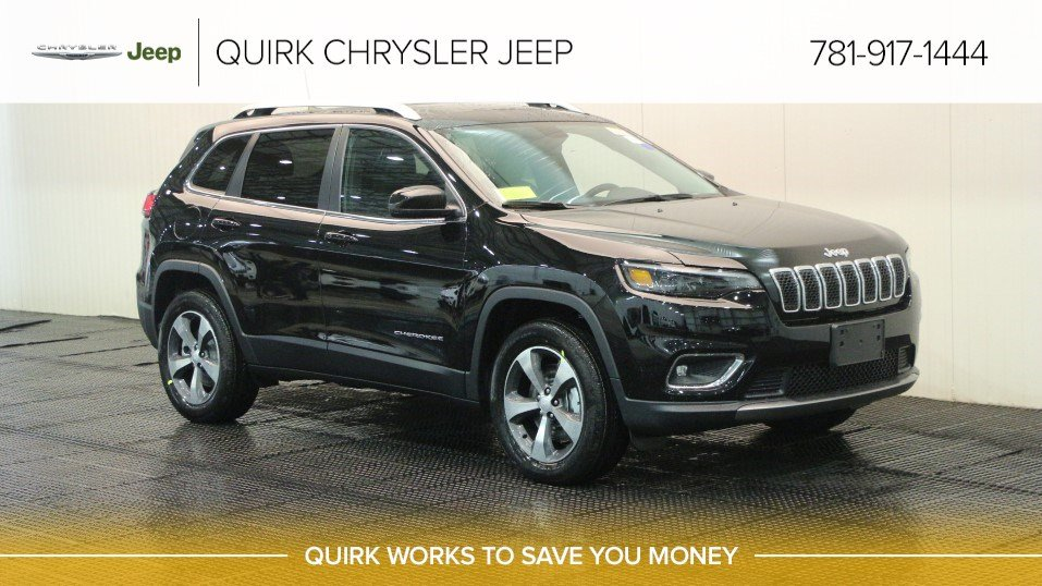 New 2019 Jeep Cherokee Limited Sport Utility In Braintree J18203