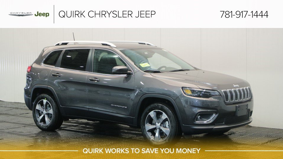 New 2019 Jeep Cherokee Limited Sport Utility In Braintree J17344