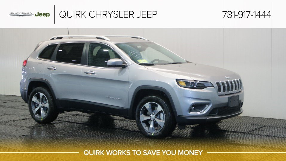 New 2019 Jeep Cherokee Limited Sport Utility In Braintree J17356