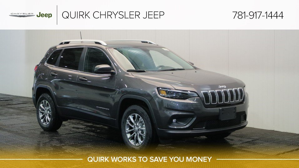 New 2019 Jeep Cherokee Latitude Plus Sport Utility In Braintree