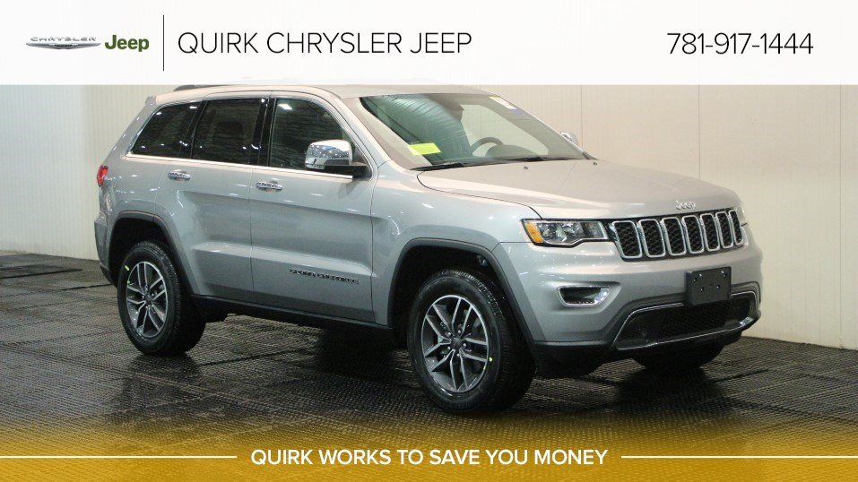 New 2019 Jeep Grand Cherokee Limited Sport Utility In Braintree