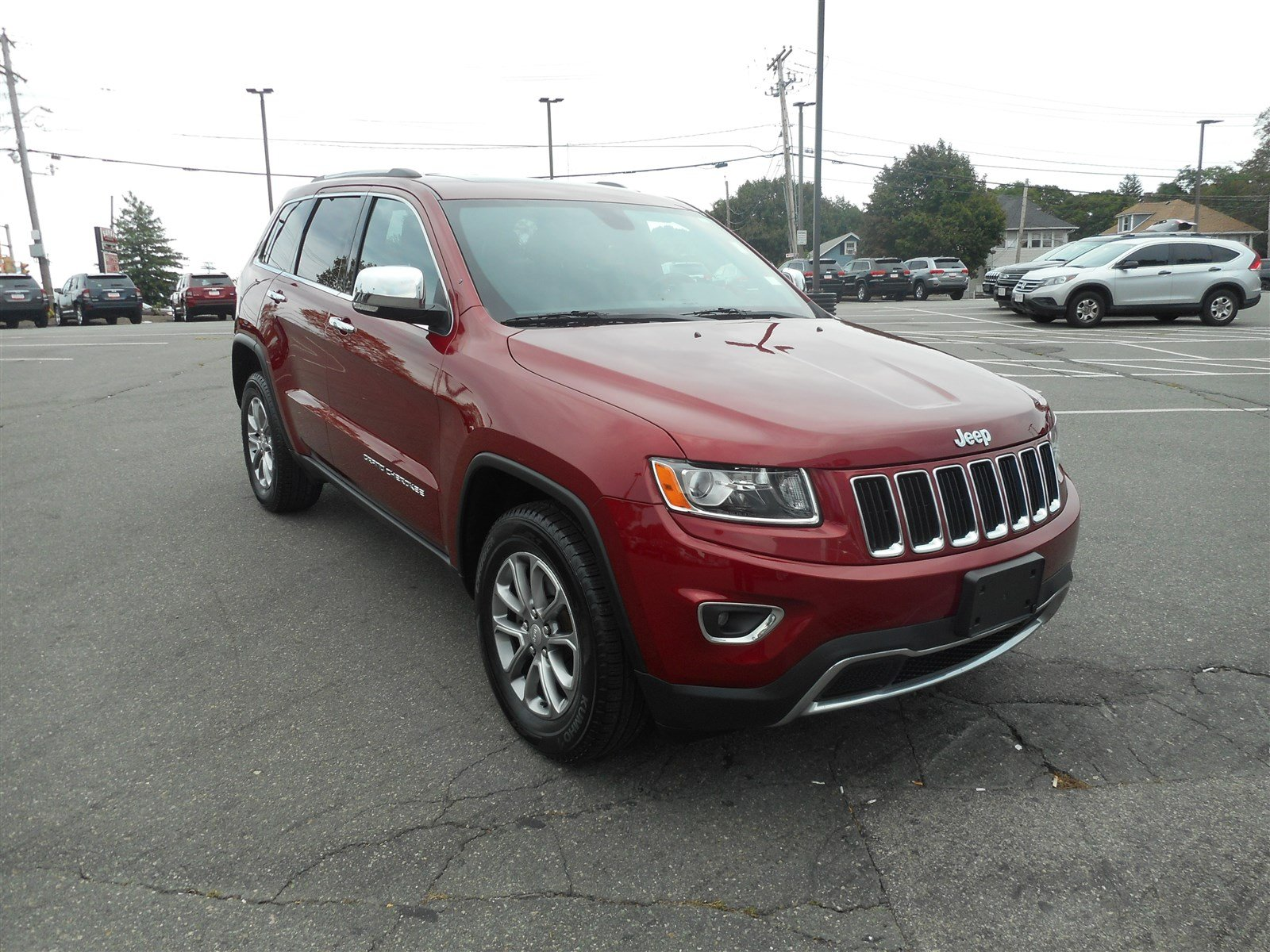certified pre owned 2014 jeep grand cherokee limited sport utility in braintree j12213a quirk. Black Bedroom Furniture Sets. Home Design Ideas
