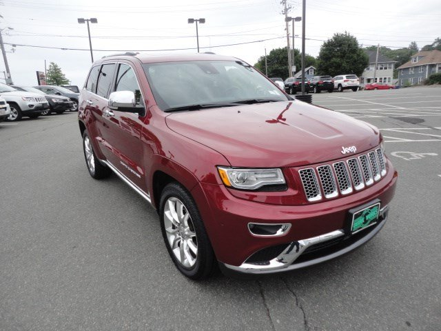 Certified Used Jeep Grand Cherokee Summit