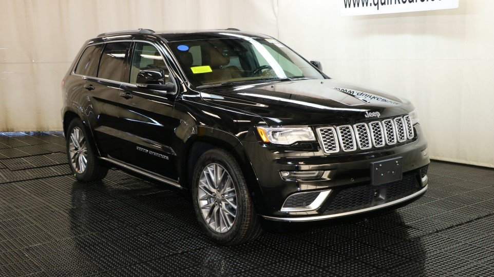 New 2018 Jeep Grand Cherokee Summit Sport Utility In