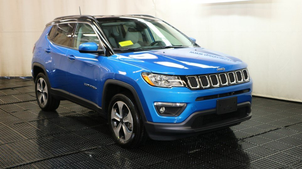 Used Chrysler Town And Country >> New 2018 JEEP Compass Latitude Sport Utility in Braintree #J15513 | Quirk Chrysler Jeep