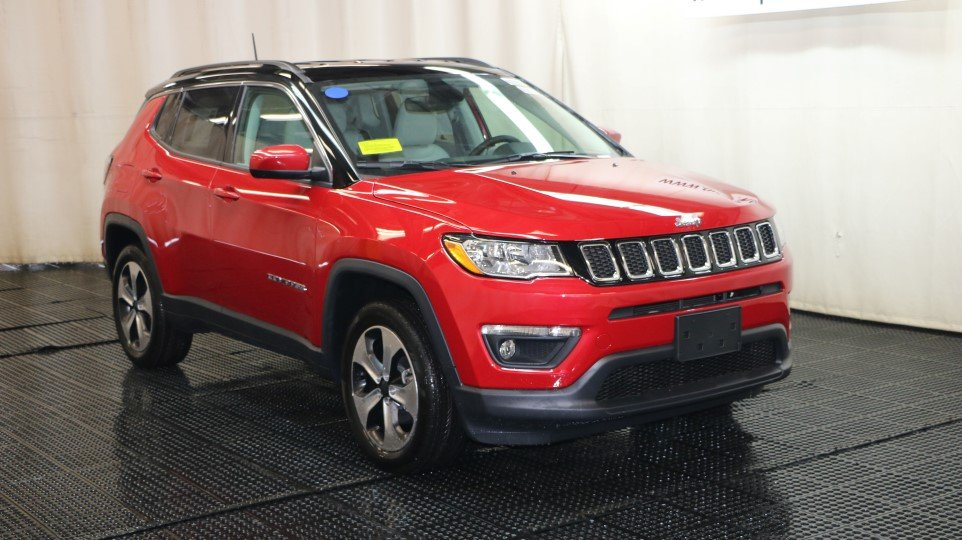 New 2018 Jeep Compass Latitude Sport Utility In Braintree