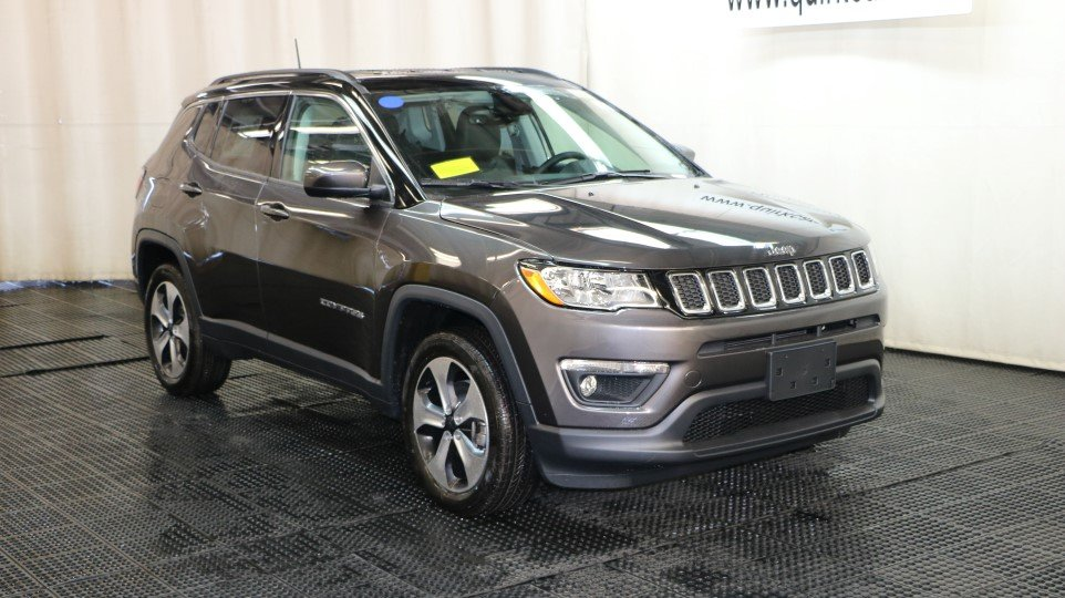 New 2018 Jeep Compass Latitude Sport Utility in Braintree J15525