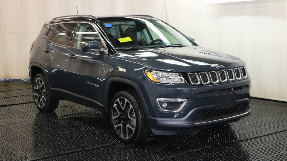New Jeep Renegade >> New 2018 Jeep Compass Limited Sport Utility in Braintree #J15390 | Quirk Chrysler Jeep