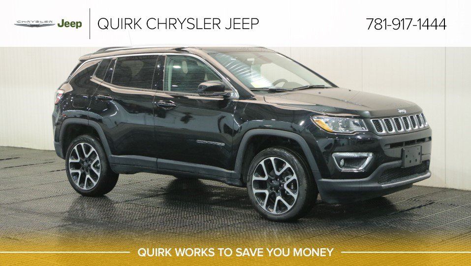 New 2018 Jeep Compass Limited Sport Utility In Braintree J17788