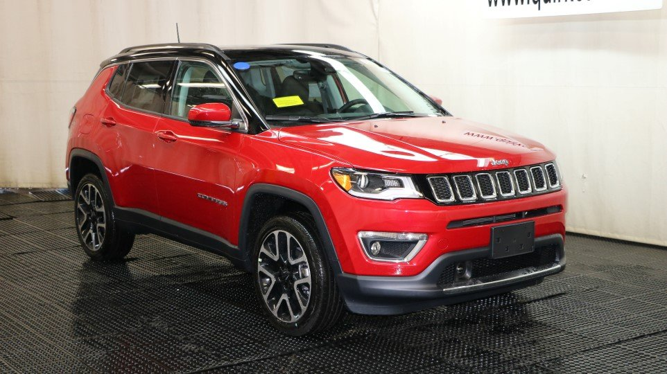 New 2018 Jeep Compass Limited Sport Utility in Braintree # ...