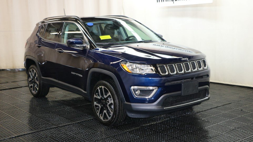 New 2018 Jeep Compass Limited Sport Utility In Braintree