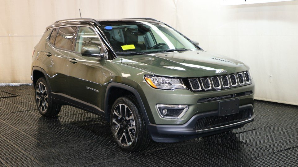 Car Lease Under 200 >> New 2018 Jeep Compass Limited Sport Utility in Braintree #J15654 | Quirk Chrysler Jeep