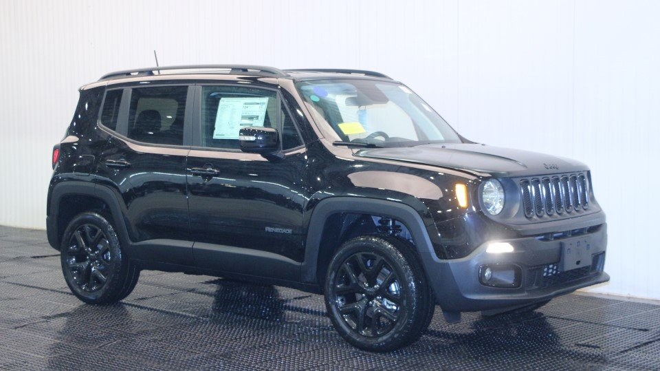 New 2018 Jeep Renegade Altitude Sport Utility In Braintree