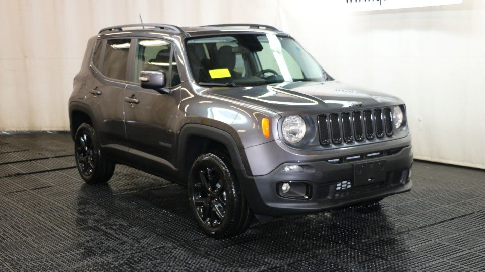 New 2017 Jeep Renegade Altitude Sport Utility In Braintree