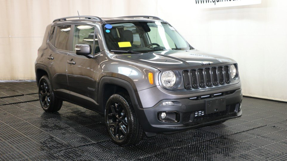 New Jeep Renegade >> New 2017 Jeep Renegade Altitude Sport Utility In Braintree J15465